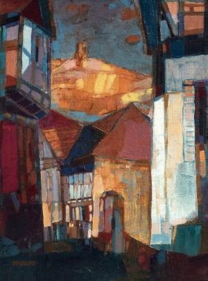 Auerbach's Autumn, 2001, oil on canvas, 40x30