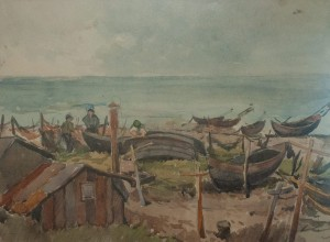 Z. Sholtes 'Fishing Station', the end of 1940s.