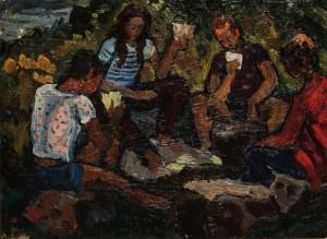 Відпочинок, 60-ті рр., к.о., 34,5х49