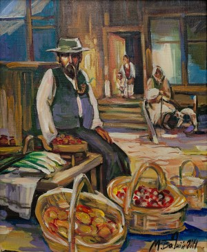 M. Bahnii 'Jewish Salesman'