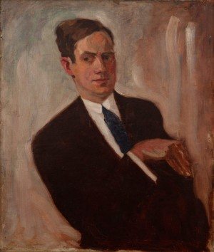 A. Erdeli 'Self-Portrait', the 1930s, oil on canvas, 70x60