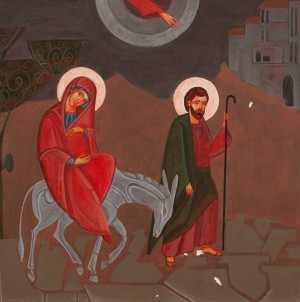 Y. Kostiv 'Joseph And Mary Go To Bethlehem', 2017.