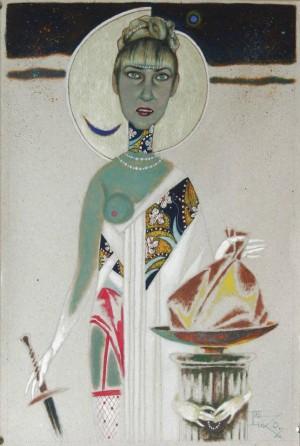 Портрет Галини Саркісянц, 1990-ті