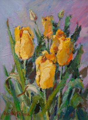 M. Pap-Malesh 'Tulips'