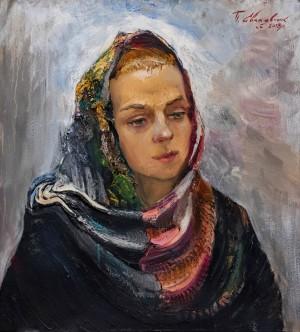 P. Svaliavchyk Wife's Portrait', 2017