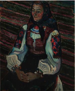 Гуцулка, 70-ті рр., к.о., 73х59