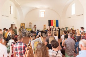 IN UZHHOROD IT WAS OPENED THE EXHIBITION TO HELP THE FRONT