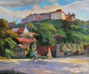 Ужгородський замок, 2015, п.о., 55х65