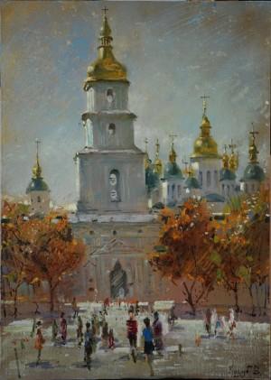 'Софіївка', 2015, п.о., 50х70