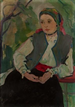 A. Erdeli 'A Girl From Verkhovyna', 1947