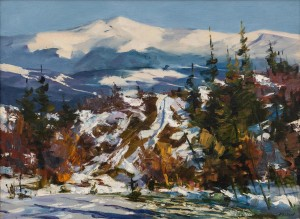 O. Fediaiev 'Winter In The Carpathians', 2005