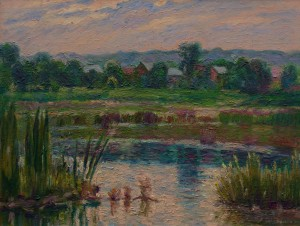 M. Hresko 'On Floodplains', 2018