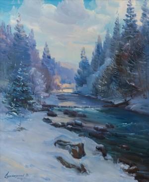 V. Svaliavchyk Frosty Flow', 2018