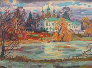 Вовчок В. 'Китаївський монастир', 2011