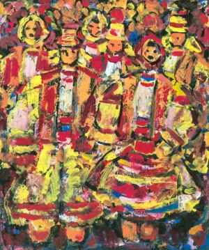 Festive Day, 2010, oil on canvas, 80х70