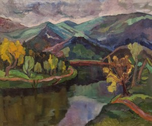 A. Erdeli Summer Landscape', the end of 1940s