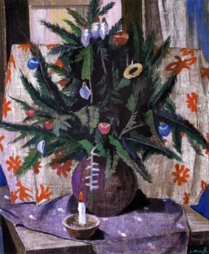 Микита В. 'Різдвяний натюрморт', 2006, 103,5х85,5