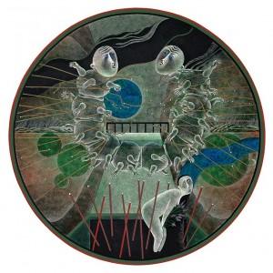 N. Ponomarenko 'Boat', 1979, mixed technique on paper, d-39 (1).jpg