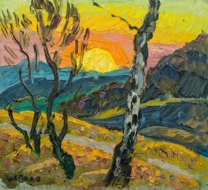 Захід сонця 2, к.о., 32х35
