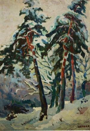 Зимовий ліс, к.о., 70х48
