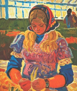 In The Greenhouse, 1976, 70х60