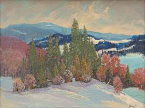 I. Bondarenko 'Winter In The Carpathians'.