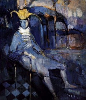Клоун, 1998, п.о., 69х59