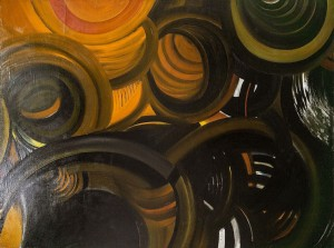 N. Kyrylova Whirlwind', 1990s, oil on canvas, 150x200