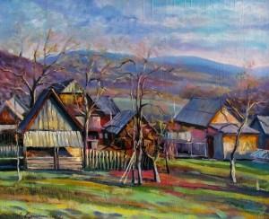 Сакалош А. 'Тепла осінь', 2013, п.о., 57х70
