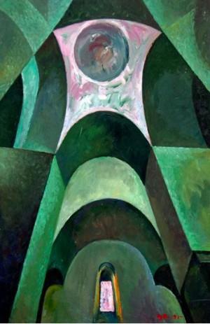 'Всередині російської церкви', 1991, 73х51