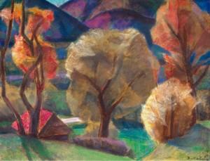 Тепла осінь, 2012, пап.пастель, 50х65