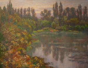 M. Hresko 'Lake In The Park', 2010