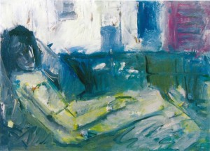 Rest, sketch, 2007, oil on canvas, 35x50