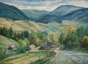M. Puhlyk-Belen Velykyi Bereznyi Village Sceneries', 2018