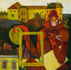 Self-portrait. Lord of the Uzhhorod Castle, 2001
