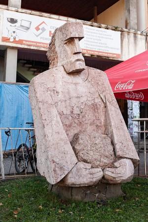Скульптурний симпозіум 'Тячів 2011'