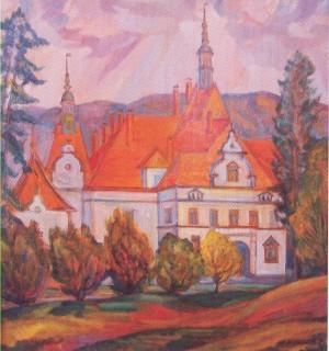 Замок графа Шенборна, п.о., 75х65