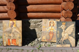 IT WAS HELD A SYMPOSIUM OF CONTEMPORARY UKRAINIAN ART IN TRANSCARPATHIA