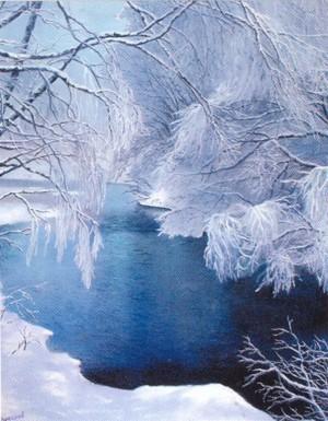 'Winter Fairytail', 2001, oil on canvas, 90x70
