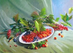 Ягоди, 2012, п.о., 45х60
