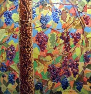 Виноград-яблуня