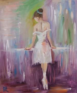 'Балерина' (копія), 2017, п.о.