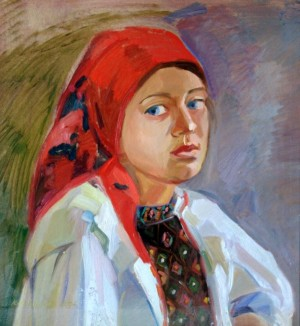 Girl from Verkhovyna