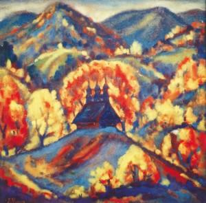 Надвечір'я, 1998, кар.темп., 69х72
