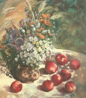 Яблучний спас, 2006, к.о., 60х70