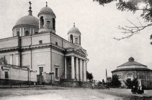 Panorama Pavilion at Vladimir's Hill in Kyiv (destroyed)