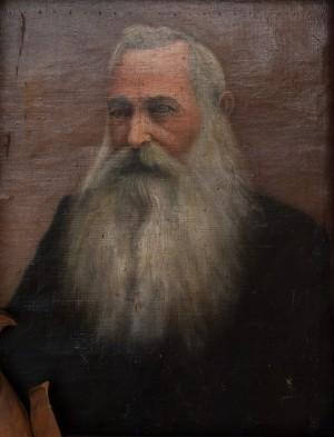 I. Silvai Self-Portrait', oil on canvas