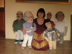 Портретні ляльки Мої колеги і Я
