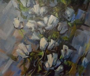 """Влад М. """"Білі тюльпани"""", 2018"""
