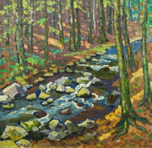 Лісовий струмок, п.о., 59х60